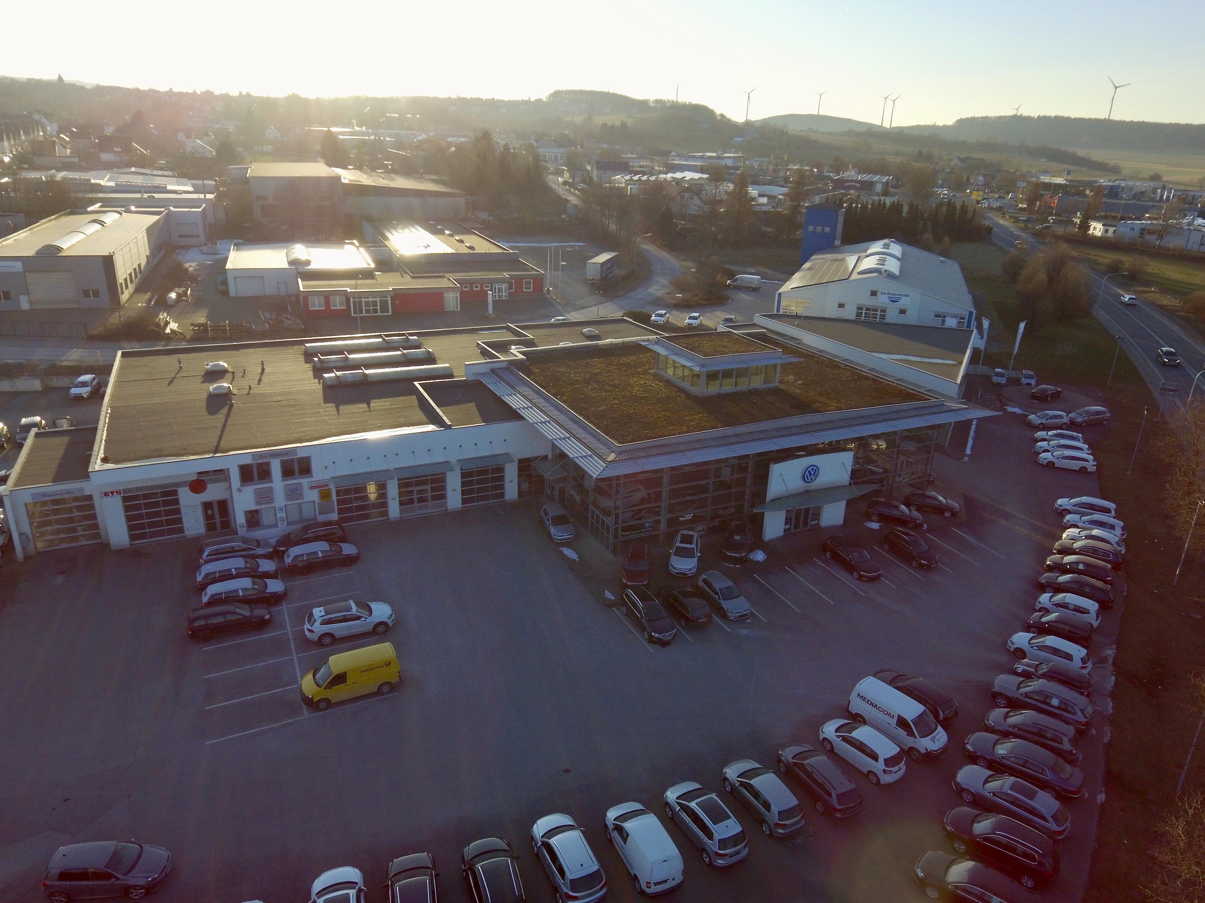 Neubau des VW- / AUDI Autohauses Biederbick in Brilon