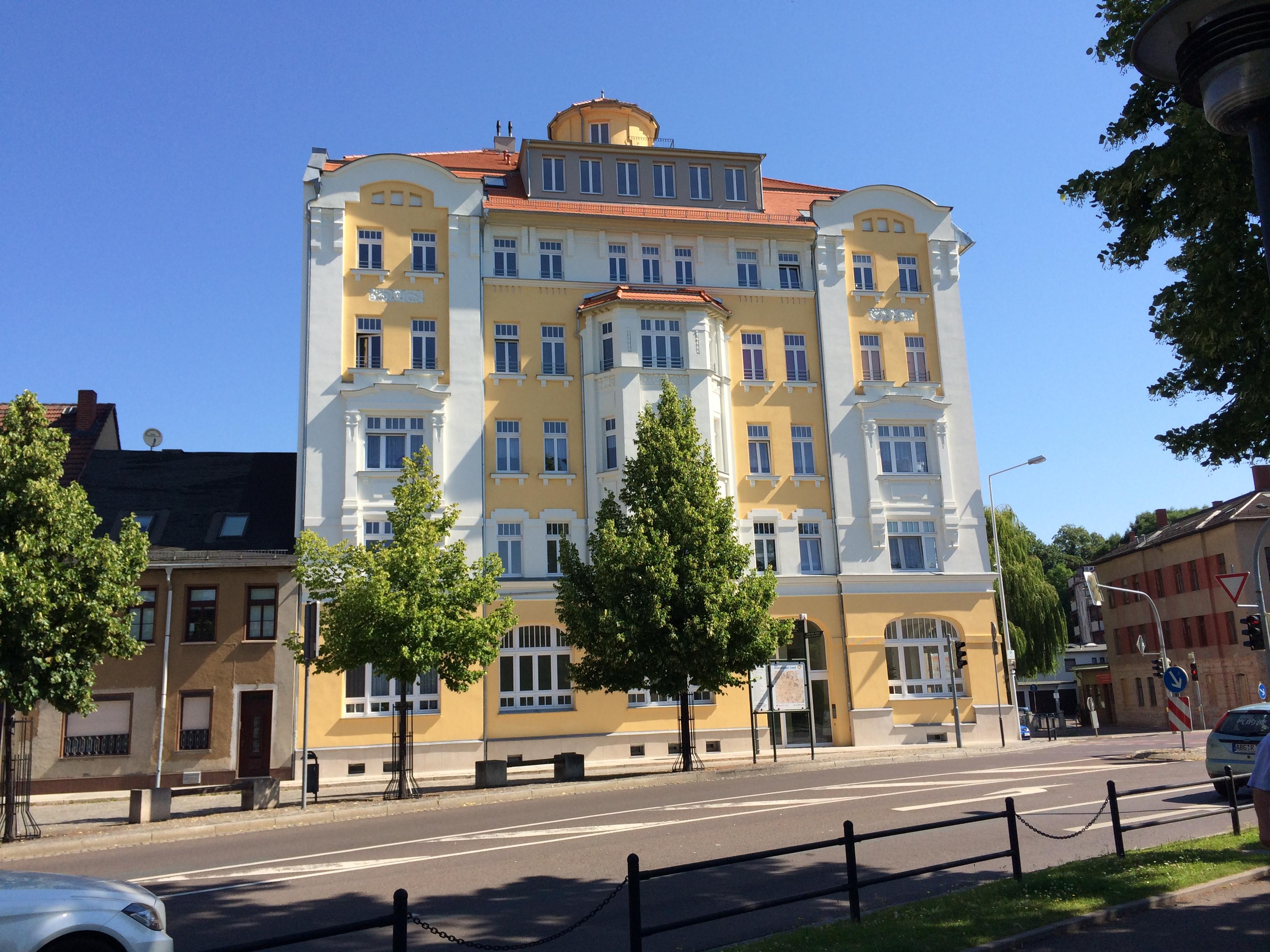 Wohn- und Geschäftshausumbau in Thüringen