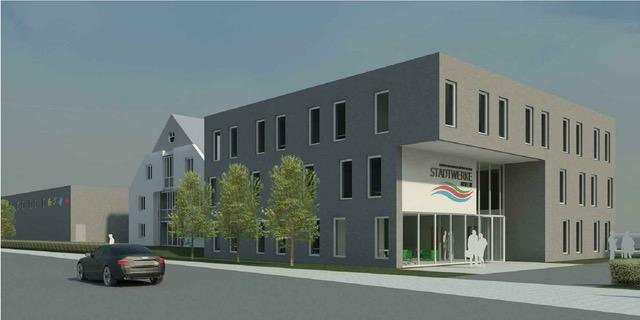 Neubau Stadtwerke Brilon